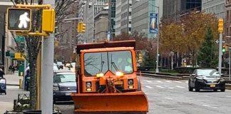 new york chasse neige