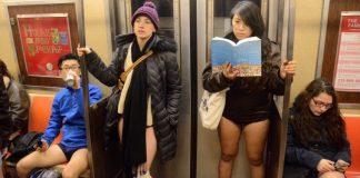 no pant subway ride new york