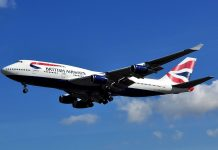british airways 747