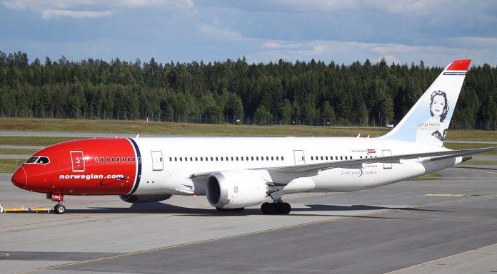 Boeing 787 Norwegian Airlines