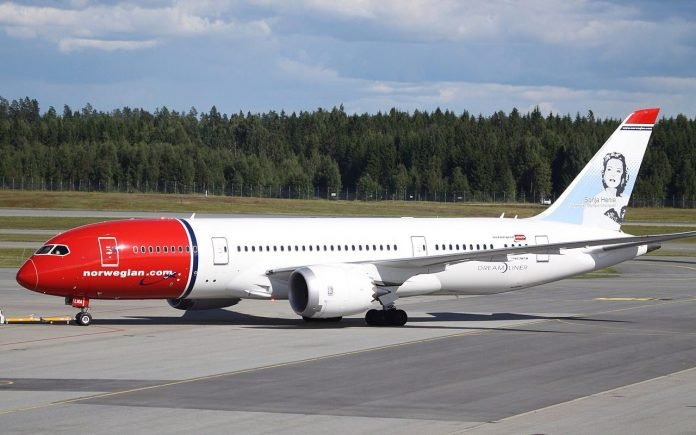 Boeing 787 Norwegian Airlines
