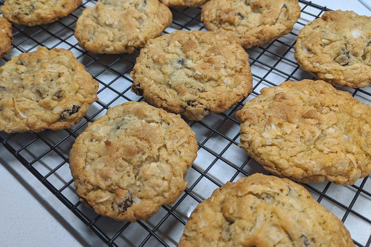La recette des cookies aux flocons d'avoine