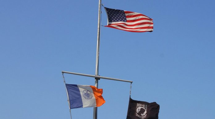 drapeau new york