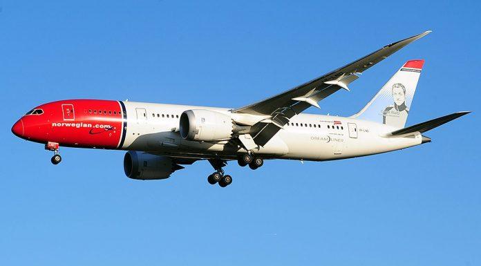 Norwegian B787
