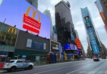 Times Square Coronavirus 2020