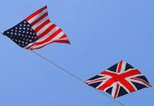 anglais USA Royaume-Uni