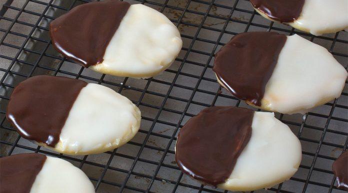 black white cookies
