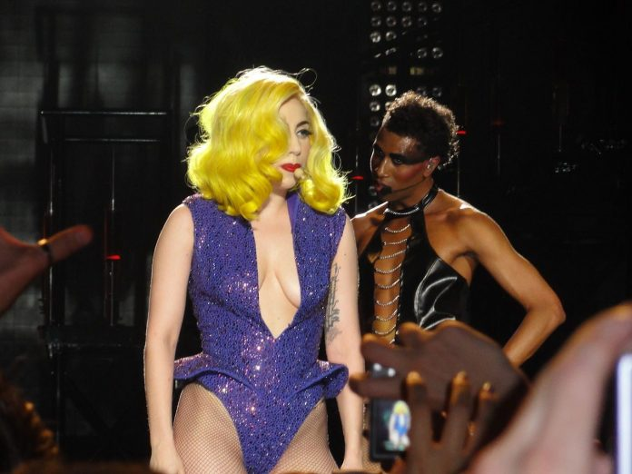 Lady Gaga lors du Monster Ball Tour