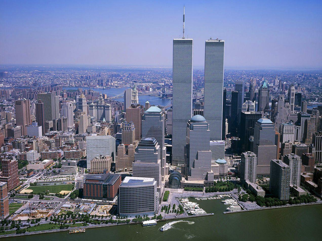 Twin Towers, les anciennes tours jumelles du World Trade Center