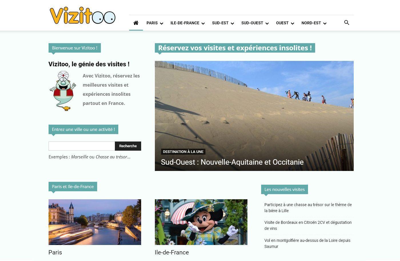 Découvrez Vizitoo, le spécialiste des visites et expériences insolites… en France !
