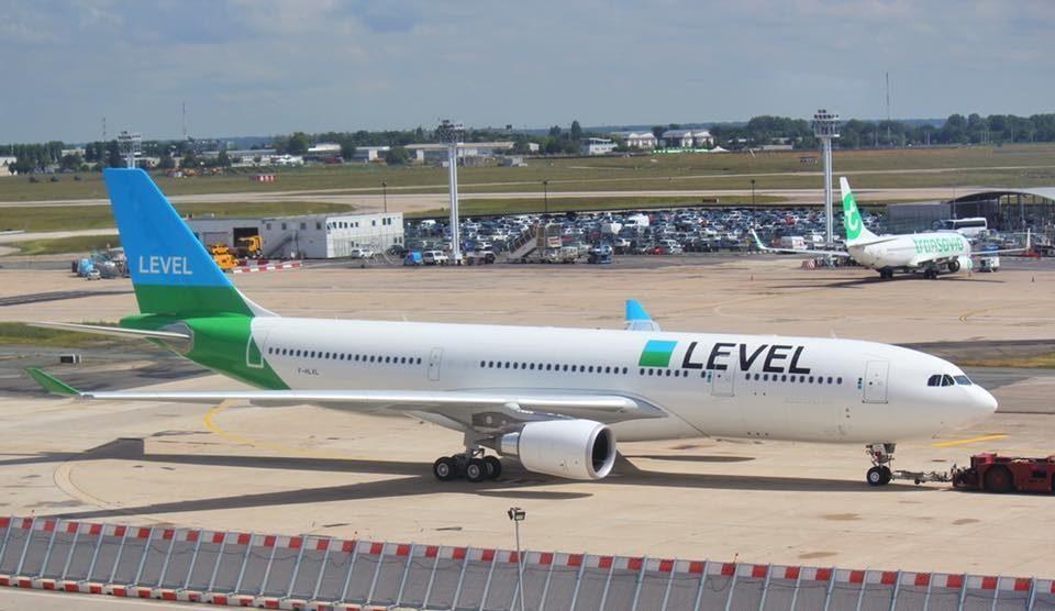 La compagnie aérienne Level France va arrêter ses activités