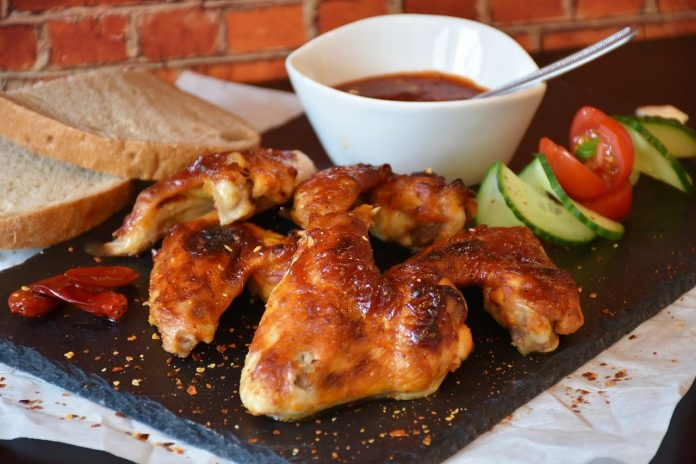 recette buffalo chicken wings