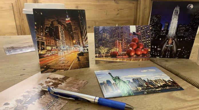 Cartes postales de New York