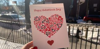 Carte Saint Valentin New York