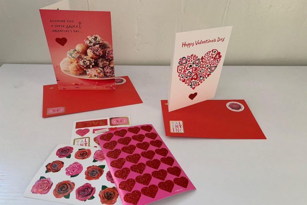 Saint Valentin cartes personalisées