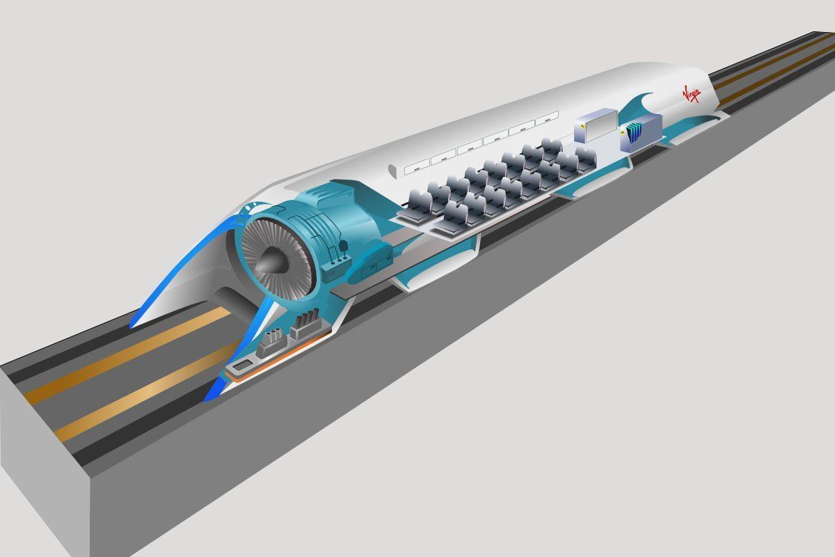 Lancement du chantier de tunnel ferroviaire entre Paris à New York