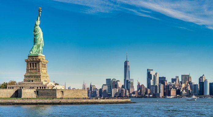 Statue Liberty New York